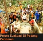 Evakuasi di Padang Pariaman