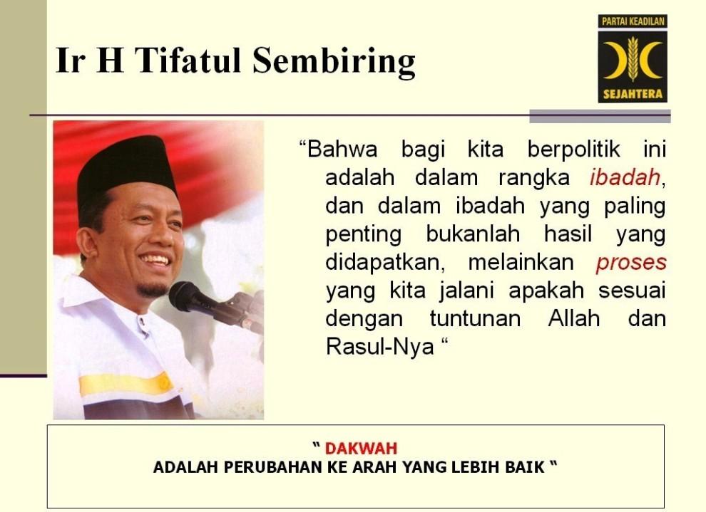 Ir Tifatul Sembiring